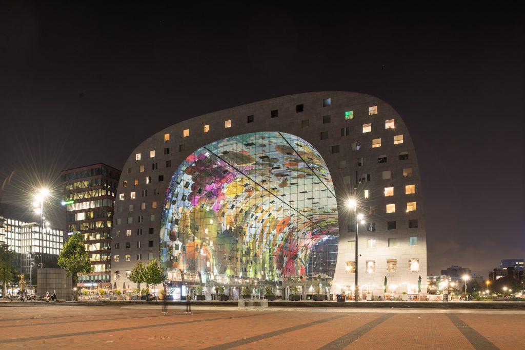 Markt halle, Rotterdam